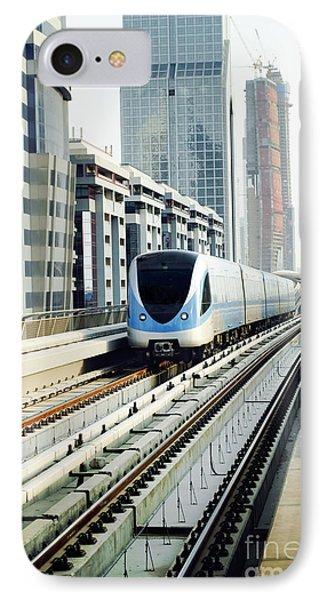 Dubai Metro Phone Case by Jelena Jovanovic