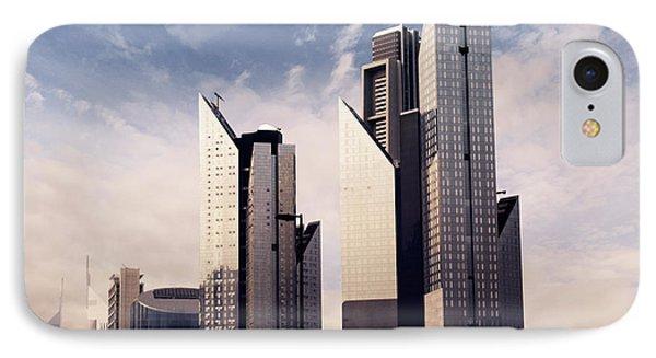 Dubai Skyline Phone Case by Jelena Jovanovic