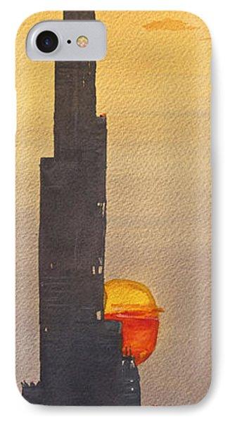 Dubai Sunset  IPhone Case by James Nyika