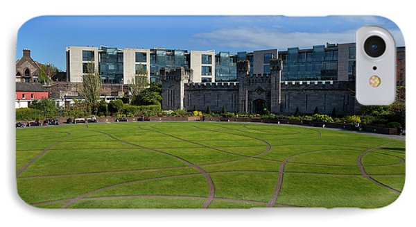 Dubh Linn Gardens Behoind Dublin IPhone Case by Panoramic Images