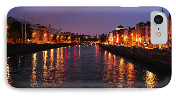 Dublin Nights IPhone Case by Mary Carol Story