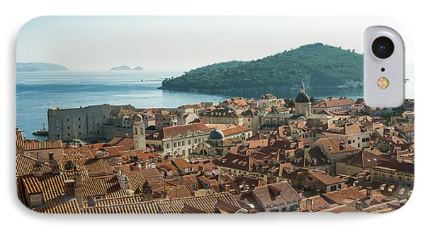 IPhone Case featuring the photograph Dubrovnik View To The Sea by Phyllis Peterson