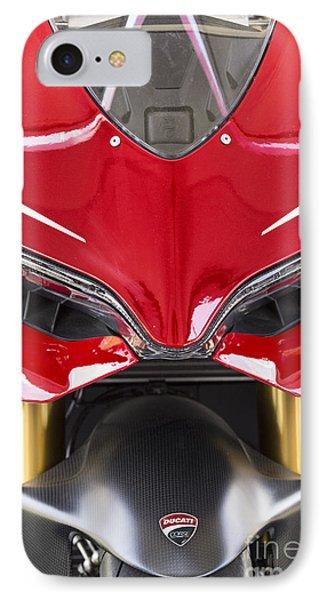Ducati-unplugged V11 IPhone Case