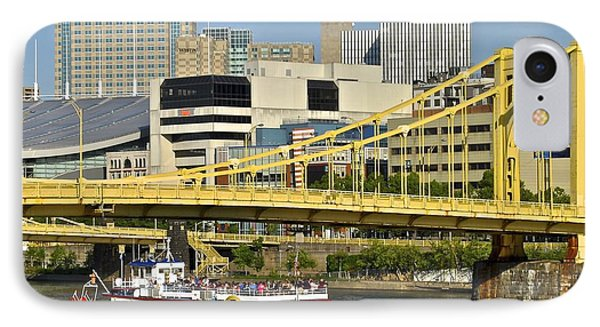 Duchess Cruise Pittsburgh IPhone Case by Frozen in Time Fine Art Photography
