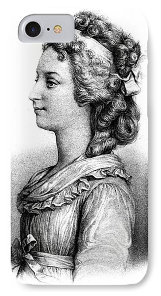 Duchess Of Angoul�me (1778-1851) IPhone Case by Granger