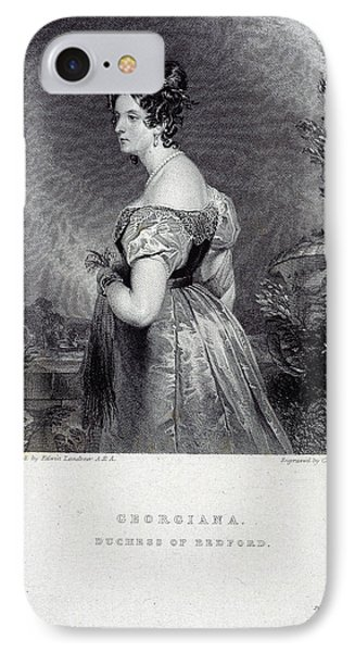 Duchess Of Bedford IPhone Case by British Library