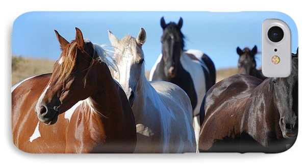 Duchess Sanctuary Mustangs IPhone Case by Duchess Sanctuary