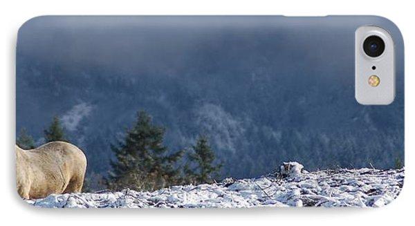 Duchess Sanctuary Snow Day IPhone Case by Duchess Sanctuary