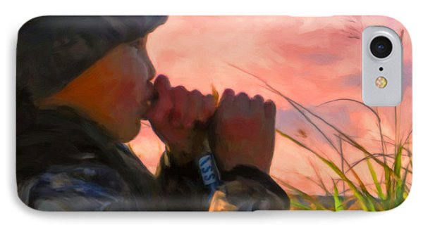 Duck Call IPhone Case by Michael Pickett