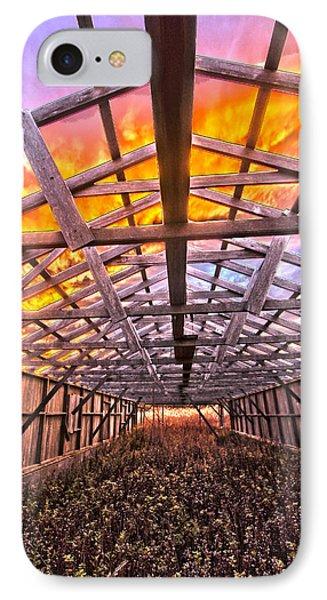 Duck Farm Skeleton Skylight IPhone Case