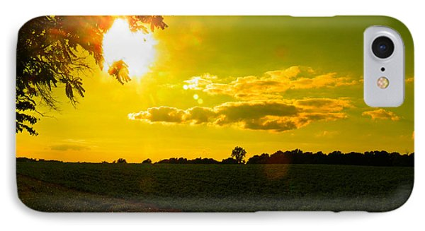 Duck Flying Low Cloud 2 IPhone Case by Nick Kirby