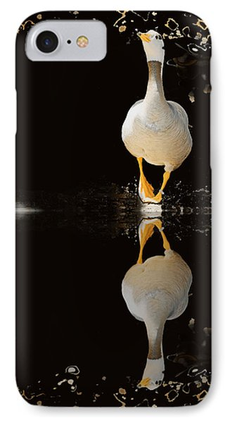 Duck On Stage IPhone Case by Christine Sponchia