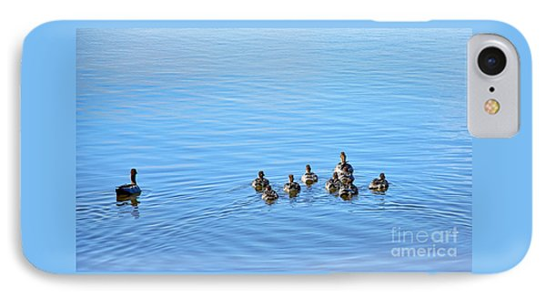 Ducklings Day Out Phone Case by Kaye Menner