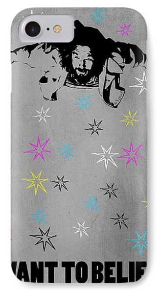 Dude I Want To Believe 3 Phone Case by Filippo B