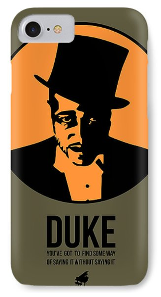 Dude Poster 3 IPhone Case by Naxart Studio