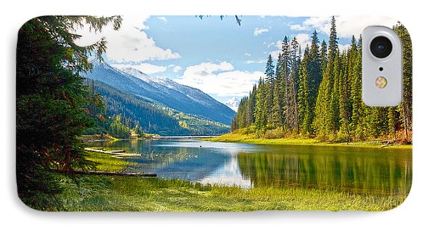 Duffy Lake 1 IPhone Case by Randy Giesbrecht
