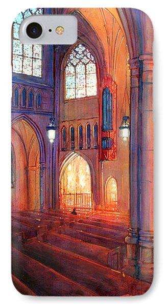 Duke Chapel Interior IPhone Case