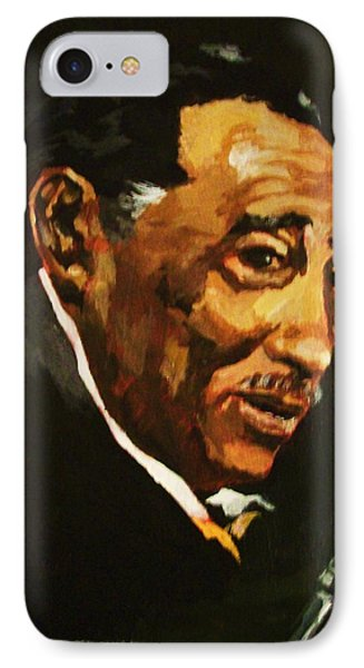 IPhone Case featuring the painting Duke Ellington by Al Brown