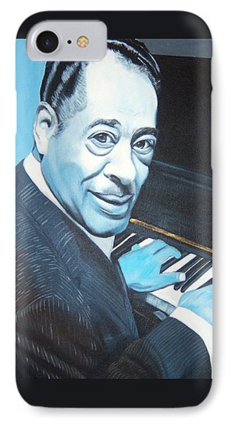 Duke Ellington IPhone Case by Chelle Brantley
