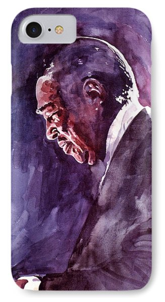 Duke Ellington Mood Indigo Sounds IPhone Case by David Lloyd Glover