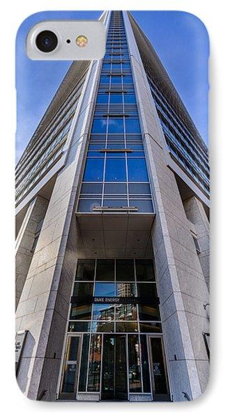 Duke Energy Center Corner View IPhone Case by Randy Scherkenbach