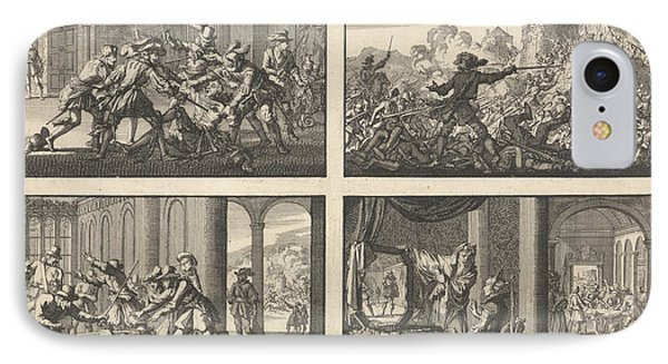 Duke Of Guise Murdered In The Castle At Blois, 1588 IPhone Case by Quint Lox