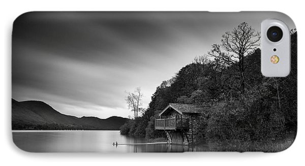 Duke Of Portland Boathouse IPhone Case by Dave Bowman