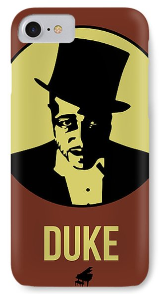 Duke Poster 1 IPhone Case by Naxart Studio