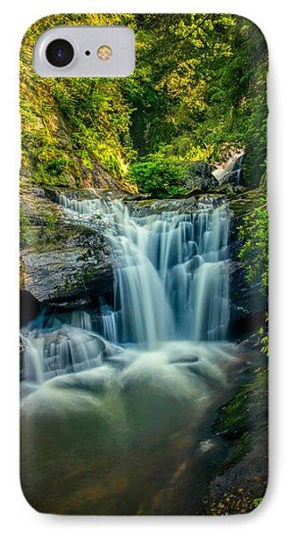 Dukes Creek Falls IPhone Case by John Haldane