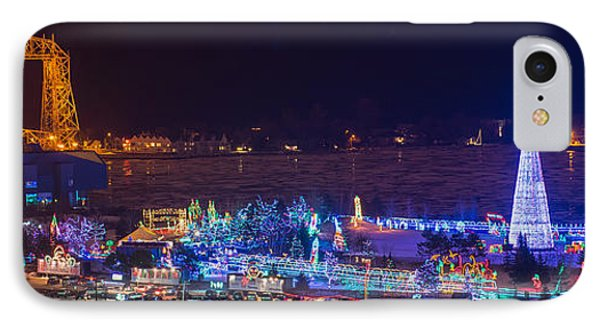Duluth Christmas Lights IPhone Case by Paul Freidlund