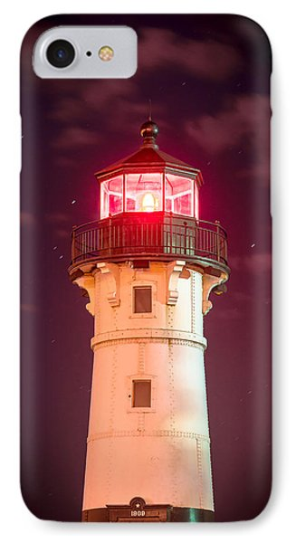 IPhone Case featuring the photograph Duluth North Breakwater Lighthouse by Mark David Zahn