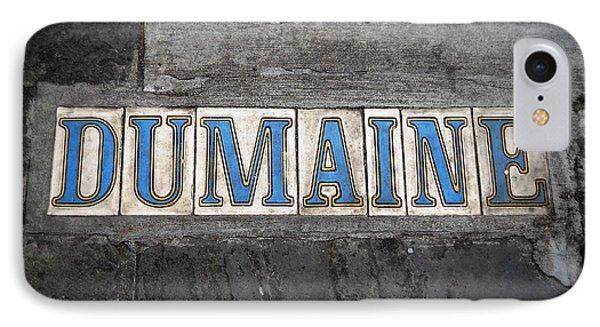 Dumaine IPhone Case