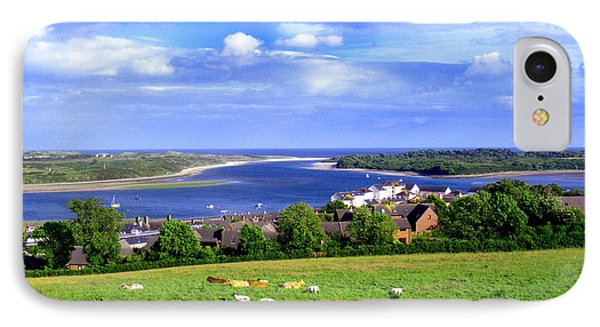 Dundrum Bay Irish Coastal Scene IPhone Case by Nina Ficur Feenan