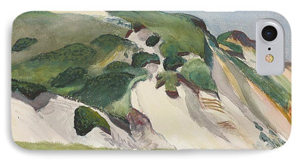 Dune At Truro IPhone Case by Edward Hopper