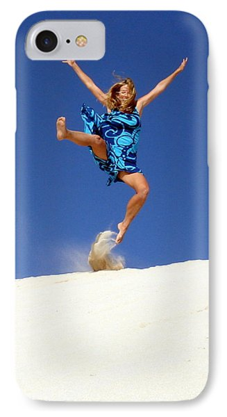 Dune Dance Phone Case by Ramona Johnston