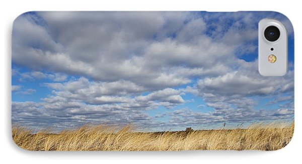 Dune Grass And Sky IPhone Case by Allan Morrison