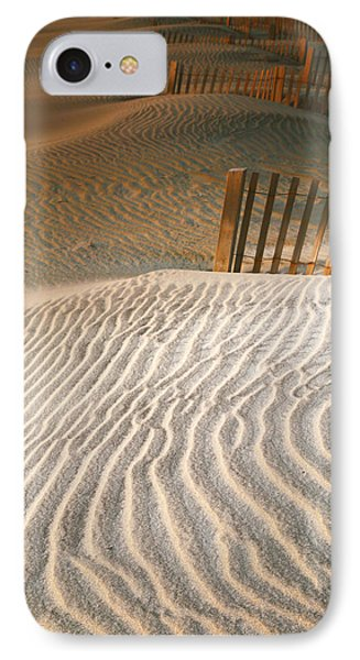 Dune Patterns IIi IPhone Case by Steven Ainsworth