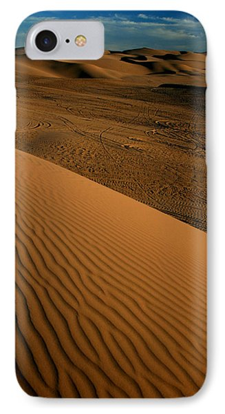 Dune Sunset Phone Case by Scott Cunningham