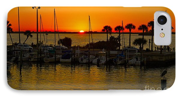 Dunedin Sunset IPhone Case