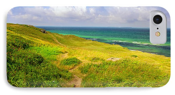 Dunes And Ocean IPhone Case