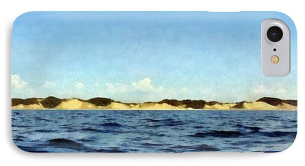 Dunes Panorama IPhone Case by Michelle Calkins