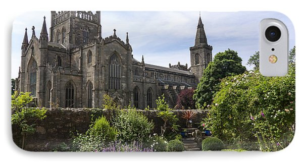 Dunfermline Abbey From The Abbot House IPhone Case by Ross G Strachan