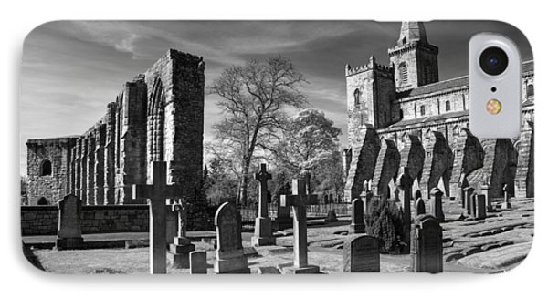 Dunfermline Palace And Abbey IPhone Case by Ross G Strachan