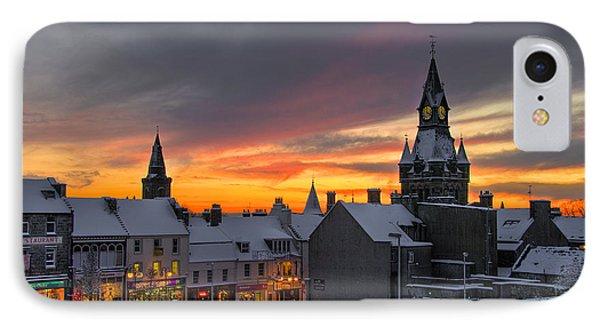 Dunfermline Winter Sunset IPhone Case
