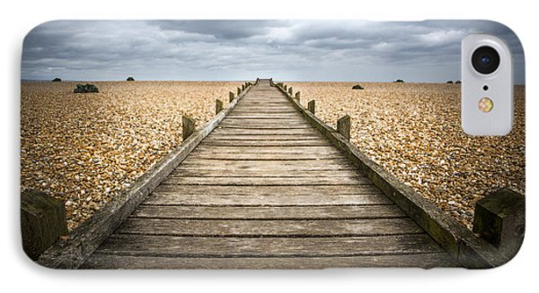 Dungeness Beach Walkway IPhone Case