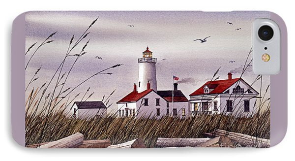 Dungeness Lighthouse IPhone Case by James Williamson