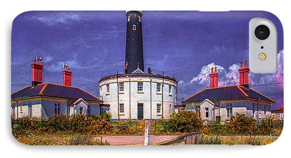 IPhone Case featuring the photograph Dungeness Old Lighthouse by Chris Lord