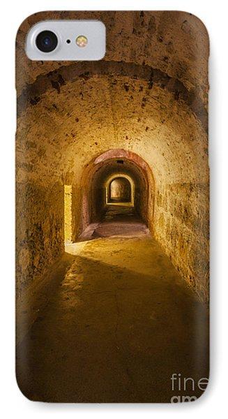 Dungeon At Castillo San Cristobal In Old San Juan Puerto Rico IPhone Case