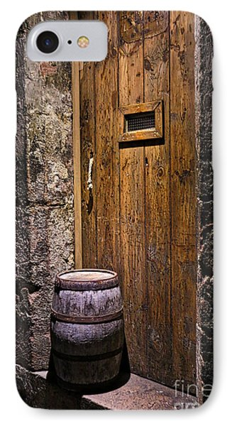 Dungeon Door IPhone Case by Kate Purdy