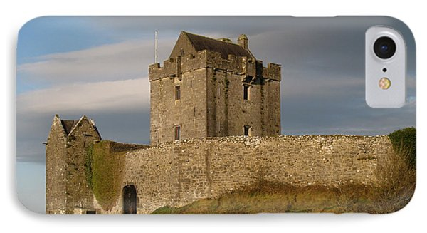 IPhone Case featuring the photograph Dunguire Castle by Kathleen Scanlan